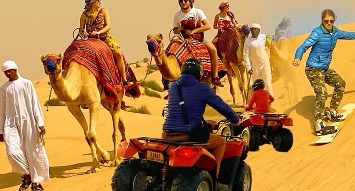 Morning desert safari tours in Dubai