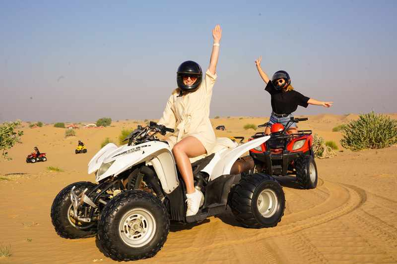 best sunrise quad biking experience in Dubai