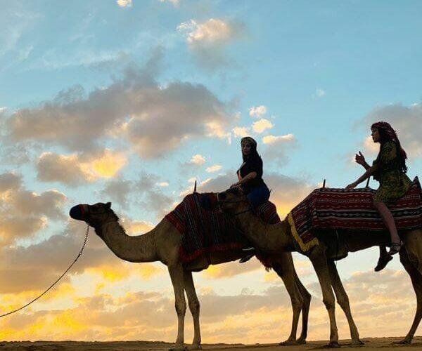 early morning sunrise desert safari Dubai