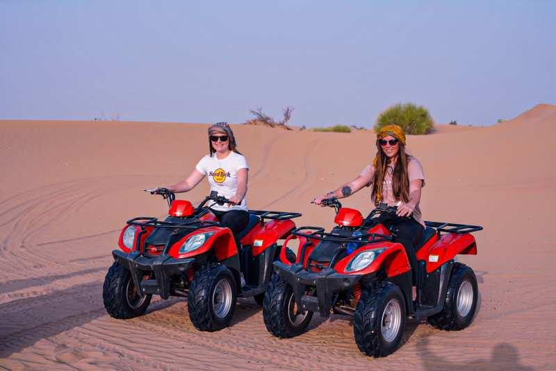 ultimate luxury desert safari with quad biking dubai