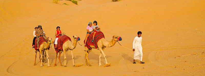 Dubai sunrise safari tour