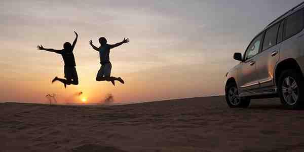 amazing sunrise desert safari