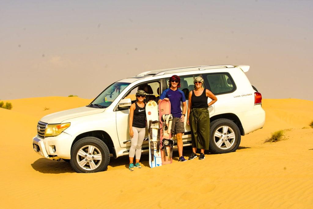 early morning safari with sand boarding: sandboarding tours in Dubai: evening desert safari and sandboarding: sandboarding and quad biking tour