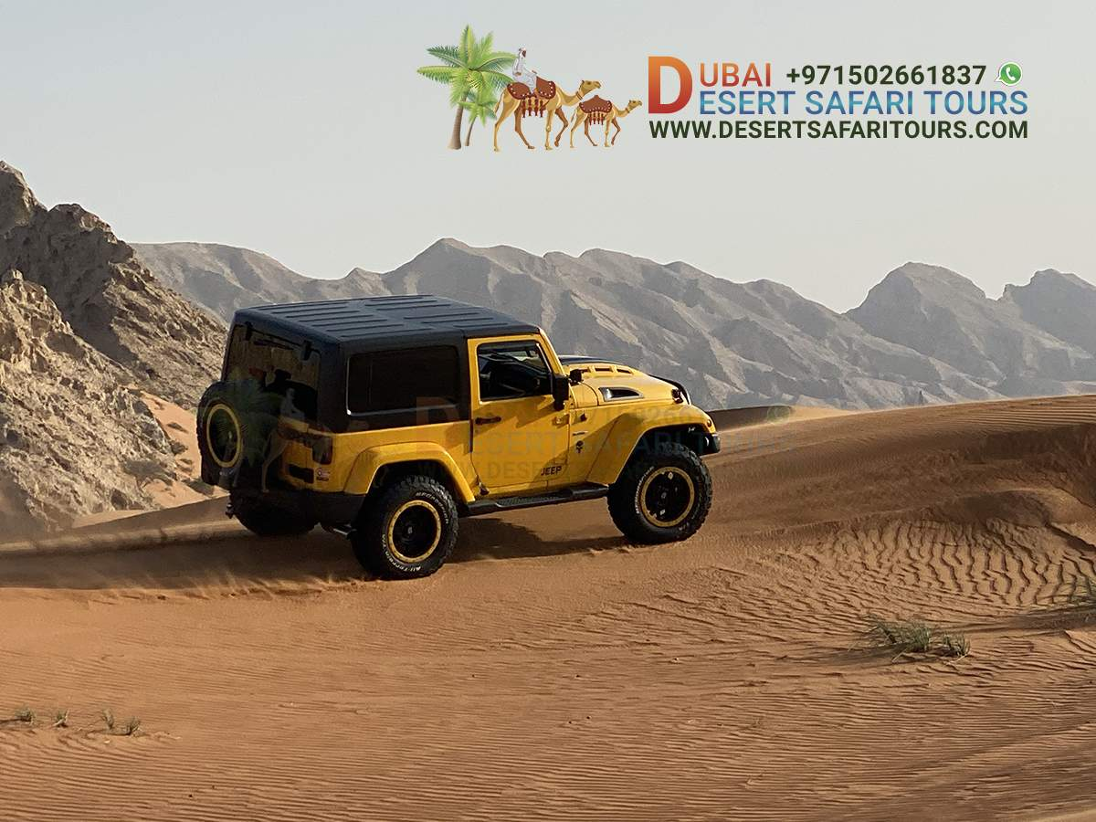 Which desert safari Dubai