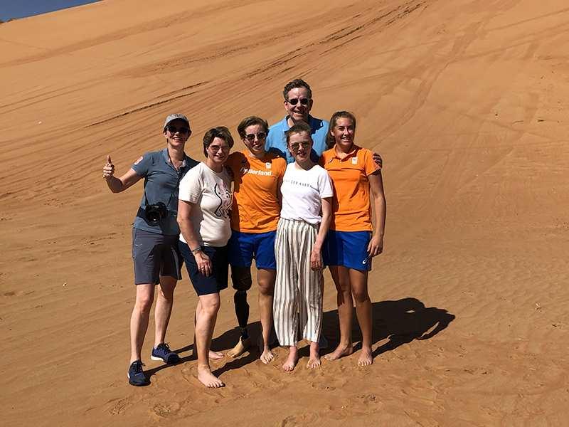 desert safari In Abu Dhabi is best for families