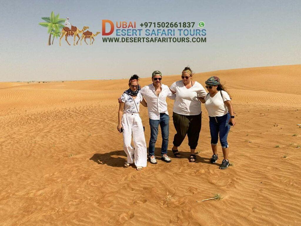 mornin desert safari Dubai
