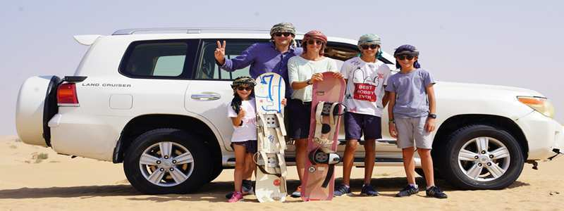 Incredible Desert Safari Dubai Tours At Morning Hours