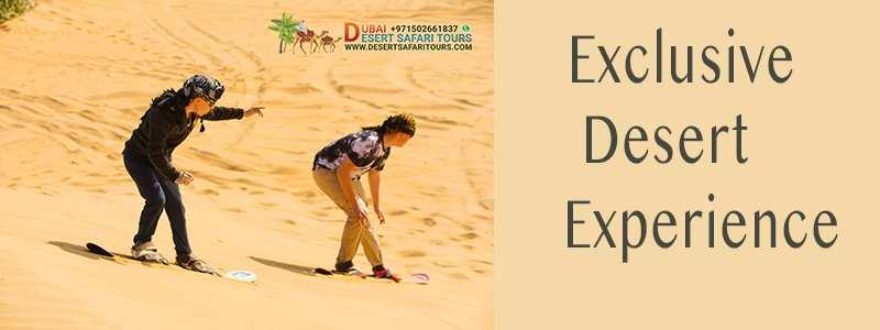 How to book desert safari Dubai