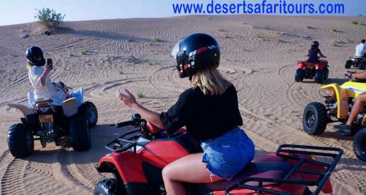 best desert safari experience