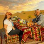 sunrise breakfast desert safari setup Dubai