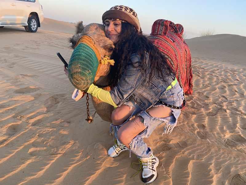 Ride a Camel in Desert Safari Dubai
