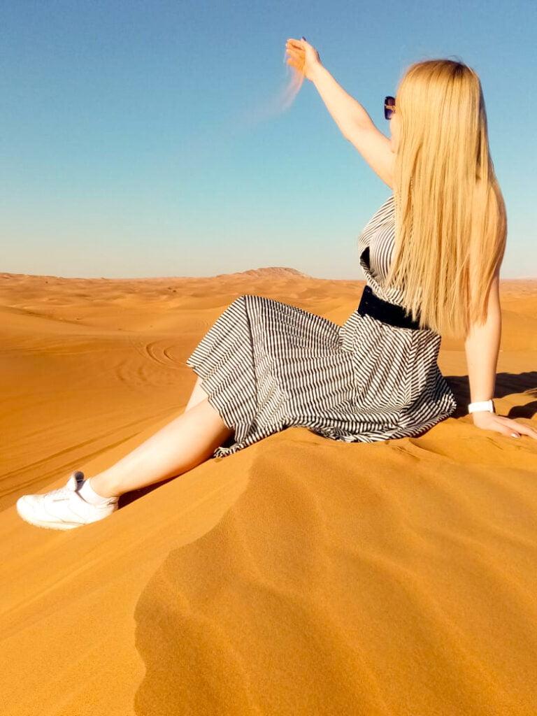 a safe and enjoyable desert safari experience in Dubai