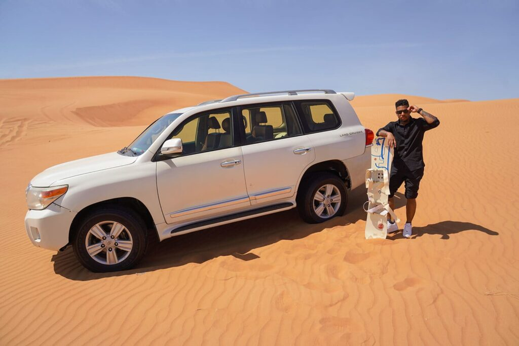 the great Dubai Desert Safari tours